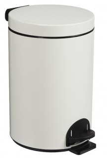 Rossignol Sanelia Treteimer 14L aus Stahl oder Edelstahl mit antibakteriellem Eimer