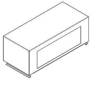 Franke Klappdeckelaufsatz RODX608 für den Abfalleimer RODX607 - Vorschau 2