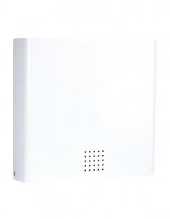Proox® ONE snow fall moderner Papierhandtuchspender SF-100 weiß beschichtet RAL 9016