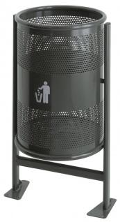 Abfallbehälter 60 Liter auf Gestell