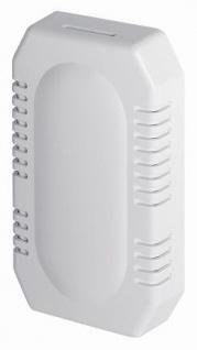 MediQo-line kleiner Lufterfrischer aus Kunststoff in Weiß oder Edelstahl-look zur Wandmontage