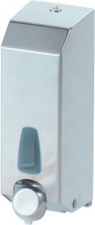 Marplast Foaminox Nachfüllbarer Schaumseifenspender 1 Liter aus Edelstahl MP 806