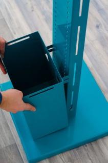 Hygiene- und Desinfektions-Station inkl. Desinfektionspender und inkl. Halterung für Papierhandtuchrolle und Handschuhe, Abfallbox 13lt. - Vorschau 4