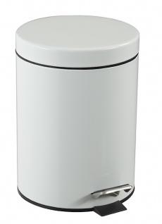 Rossignol Essencia Treteimer 5 Liter in Edelstahl oder Weiß mit Innenbehälter