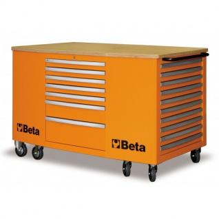Beta Mobiler Arbeitsplatz mit 28 Schubladen - in 3 Farben erhältlich - Vorschau 3