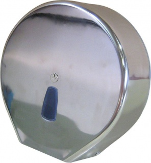Marplast Maxi Toilettenpapierspender aus Edelstahl MP 801 zur Wandmontage