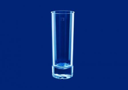 6er Set Longdrink Glas exklusiv aus Kunststoff 0, 2l SAN glasklar wiederverwendbar - Vorschau 3