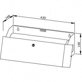 Wagner-EWAR Papierauflagenspender WP2405 Edelstahl für Aufputzmontage - Vorschau 2
