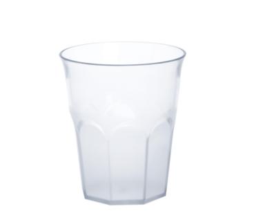 12er Set Caipirinha-Glas teilgefrostet 0, 3l SAN Kunststoff Spülmaschinenfest