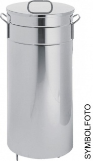 Graepel G-Line Pro erstklassiger Abfalleimer Americana aus Stahl verzinkt