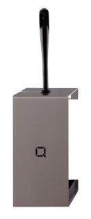 Qbic-line Toilettenbürstenhalter aus Edelstahl