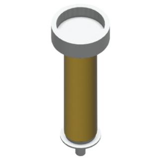 Franke Spenderschlauch EACCS055 zum Einsatz für Desinfektionsseife und Desinfektionsmittel für RODX625 und EXOS625X/W/B