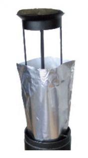 12St Aluminiumsäcke für den Aussenaschenbecher - Smokers side