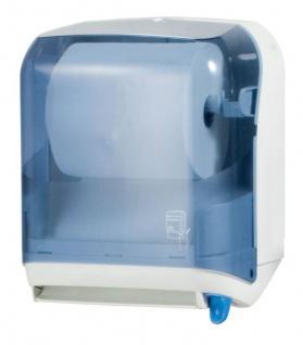 Marplast Papierhandtuchspender für Handtuchrolle aus Kunststoff transparent MP 641