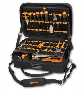 Beta Werkzeugtasche aus High-Tech-Gewebe inkl. 48-teiligen Werkzeugsortiment - Vorschau 1