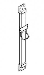 Franke Aluminium Höhenverstellung ARTH101 mit Kristallspiegel für Haartrockner - Vorschau 3
