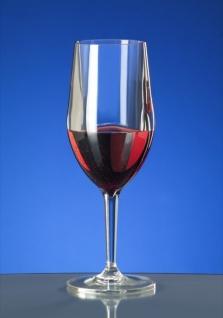 Kunststoff Weinglas Vinalia 1/8l SAN glasklar wiederverwendbar Spülmaschinen tauglich - Vorschau 3