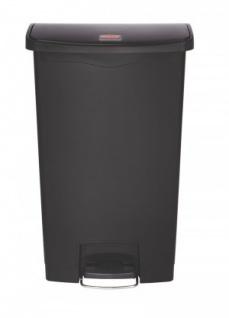 RUBBERMAID Slim Jim® Kunststoff-Tretabfallbehälter mit Pedal an der Breitseite 68 L - Vorschau 5