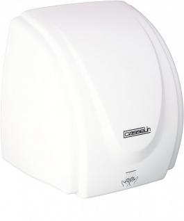 Casselin Händetrockner Weiß 2100 Watt - aus robustem ABS - mit Infrarotsensor