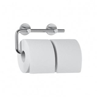 Wagner-EWAR Doppel-Toilettenpapierhalter AC252 Edelstahl
