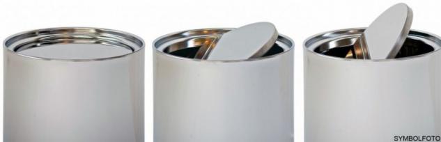 Graepel G-Line Pro Wäschebehälter Swinging Edelstahl 1.4016 gebürstet mit Tasche
