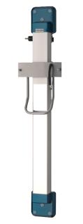 Franke Aluminium Höhenverstellung ARTH101 mit Kristallspiegel für Haartrockner