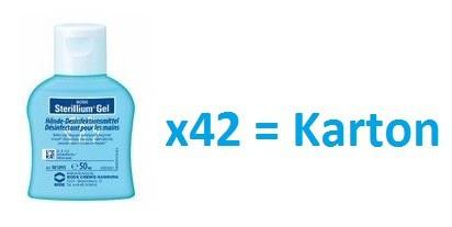 Set - Sterillium® Gel 42 x 50ml - Desinfektionsmittel für empfindliche Haut
