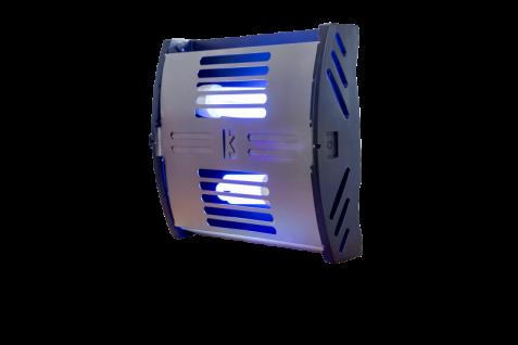 FliBlade 26 Insektenvernichter aus Edelstahl mit 2 x 13 Watt Eco Lampen