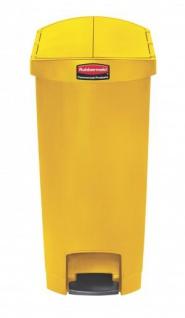 RUBBERMAID Slim Jim® Kunststoff-Tretabfallbehälter mit Pedal an der Schmalseite 50 L - Vorschau 2