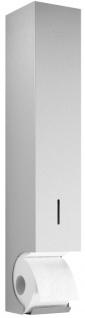 Wagner-EWAR Toilettenpapier-Vorratsbehälter WP168 Edelstahl für Aufputzmontage