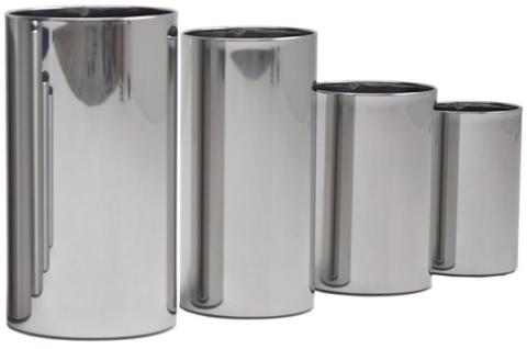 Graepel G-Line Pro hochwertige Design Papierkörbe Pieno Edelstahl poliert 1.4016