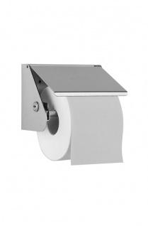 Wagner-EWAR Toilettenpapierhalter WP148 Edelstahl für Aufputzmontage