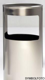 Graepel G-Line Pro LIVIGNO outdoor Standascher aus geschliffenem Edelstahl 1.4301