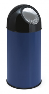 Abfallbehälter mit Druckdeckel 40 Liter