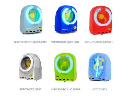 Moel Fluo Insektenvernichter 368 erhältlich in Neonrot oder Neongrün mit 230V-50Hz - Vorschau 3