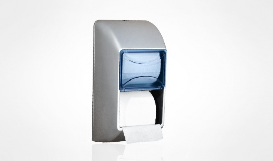 Doppel WC-Papierspender zur Wandmontage Satin MP 670 von Marplast