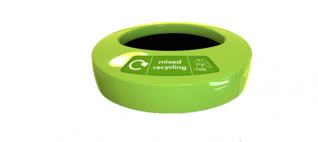 Deckel EcoAce mixed recycling Grün