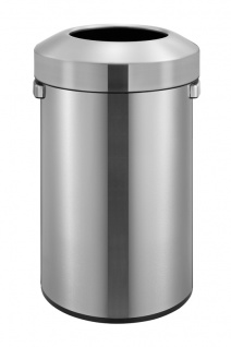 Urban Bin 60 Liter, EKO Edelstahl gebürstet