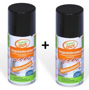 2er Set Insect-OUT® Ungeziefernebel 150 ml - Mit dem Wirkstoff der Chrysanthemenblume