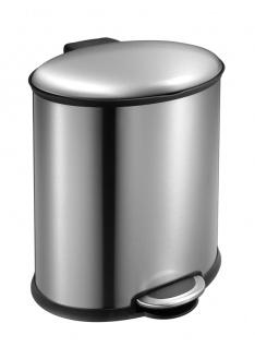 Step Bin Elipse 20 Liter, EKO Edelstahl gebürstet