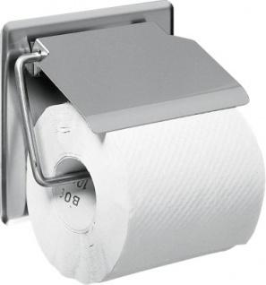 Franke Toilettenpapierhalter BS677 Stratos aus Chromnickelstahl zur Wandmontage