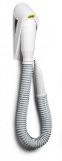 Moel weißer Haartrockner Elephon 320TR aus ABS mit 700 Watt zur Wandmontage