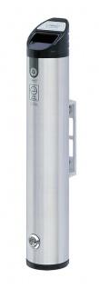 Runder Wand-Aschenbecher aus Aluminium 2 Liter