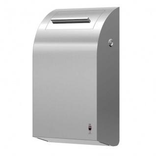 Dan Dryer Hygienebox 7L aus gebürstetem Edelstahl mit rostfreiem Inneneimer