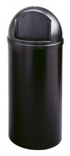 Marshal Container 95 Liter, Rubbermaid Schwarz