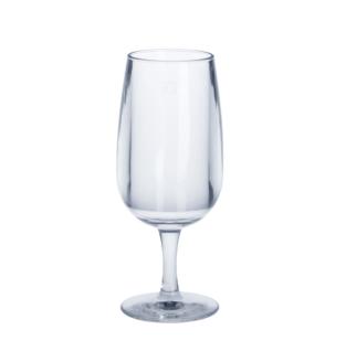 6er Set Weinglas 0, 1l SAN Glasklar aus Kunststoff wiederverwendbar