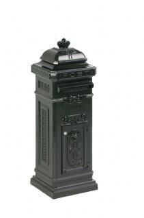Säulen-Briefkasten aus Gießaluminium