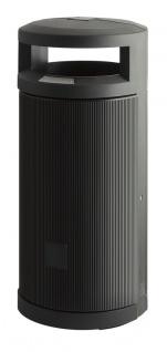 Abfallbehälter für draußen mit Dach 120 Liter