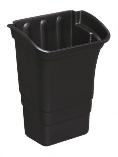 Rubbermaid Abfallbehälter 30L - Werkzeugablage zur Befestigung am Arbeitswagen
