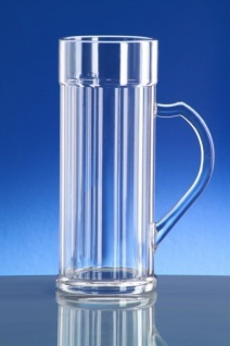 SET 6 Stück Doppler Krug 2 liter Kunststoff Spülmaschinen geeignet lebensmittelecht - Vorschau 2